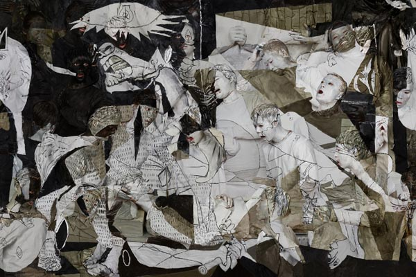 Боди-арт: воссоздание знаменитых полотен от Лю Болина