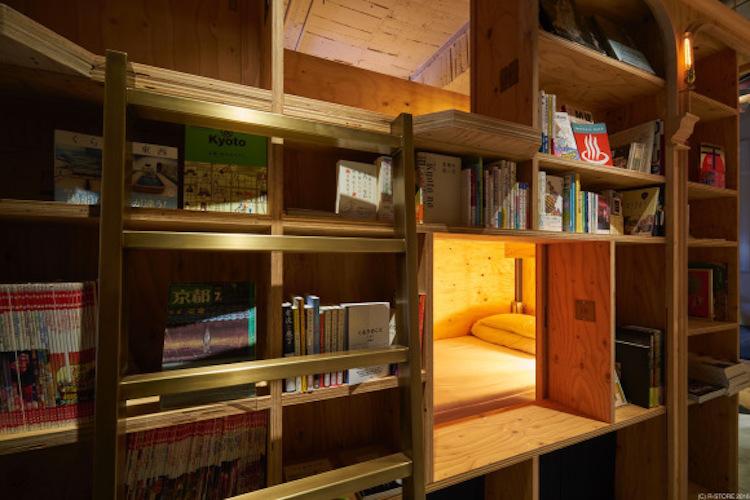 книжный гестхаус в Японии, Book and Bed Tokyo