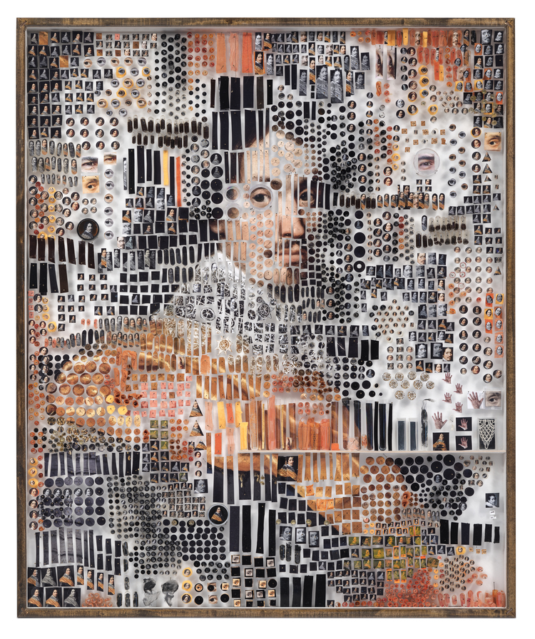 портреты из тысяч деталей, Майкл Мэйпс, Michael Mapes