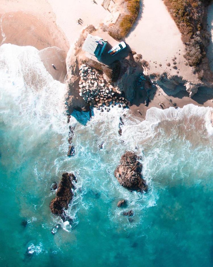 ландшафты Австралии, фотографии с дрона, Габриэль Скану, Gabriel Scanu