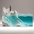 Минималистичные скульптуры из стекла от Бена Янга
