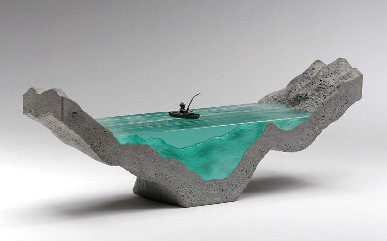 скульптуры из стекла, Бен Янг, Ben Young