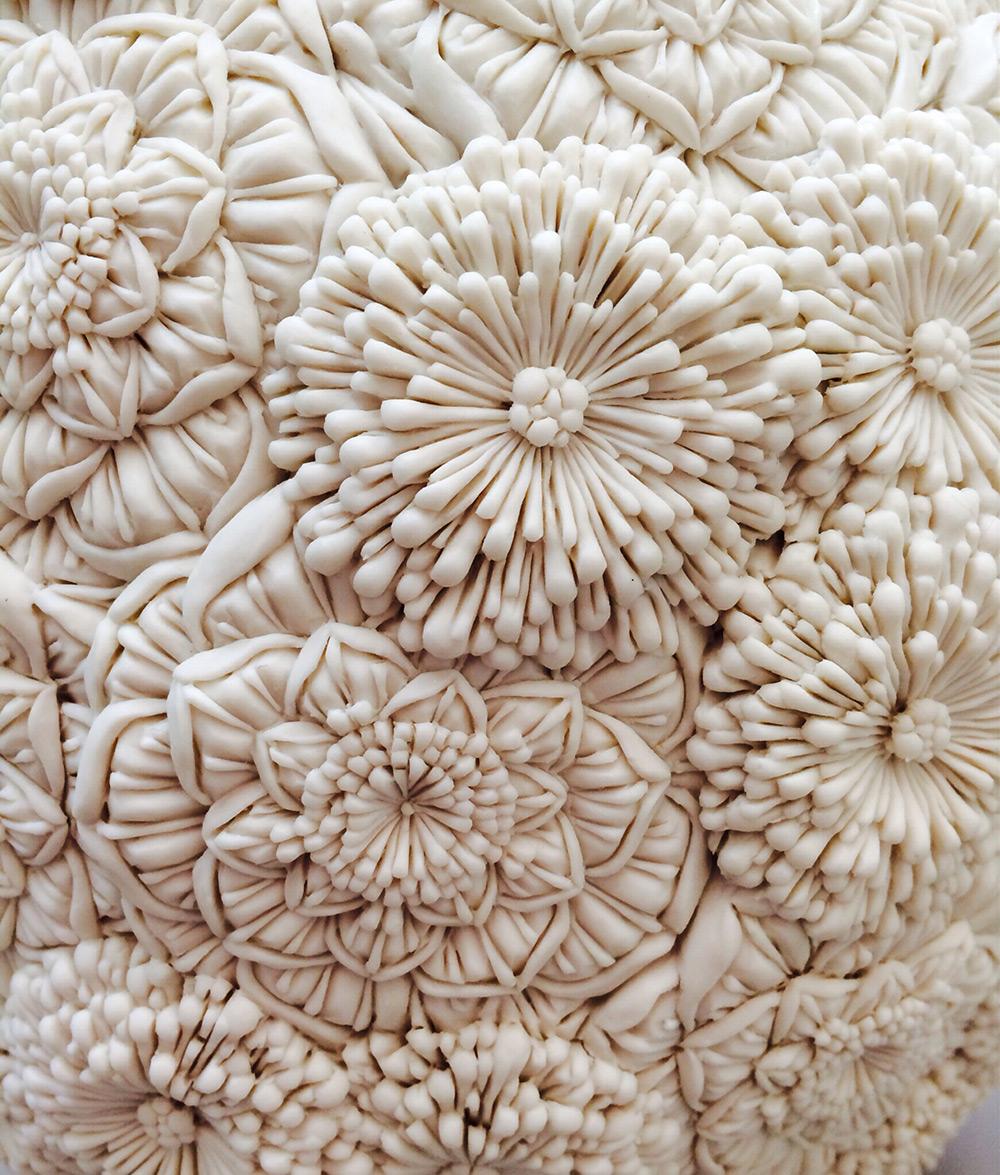 скульптуры из фарфора, Хитоми Хосоно, Hitomi Hosono