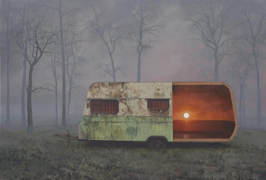 атмосферные пейзажи, Эндрю Макинтош, Andrew McIntosh