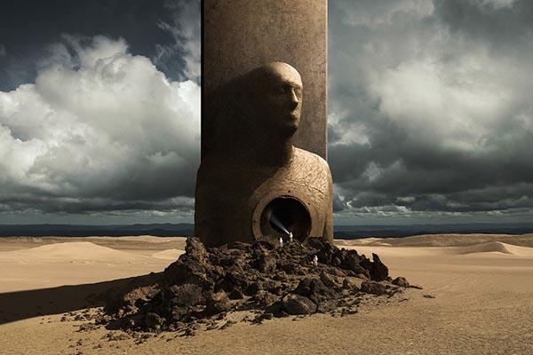 Ожившие фантазии в цифровых картинах Михала Карца