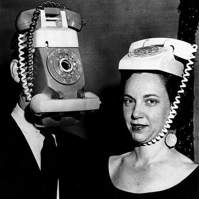 винтажные фотографии, винтажные телефоны, портативные телефоны