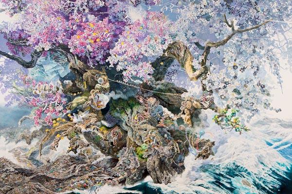 Произведение Манабу Икеды: воссоздание разрушительного цунами в Японии