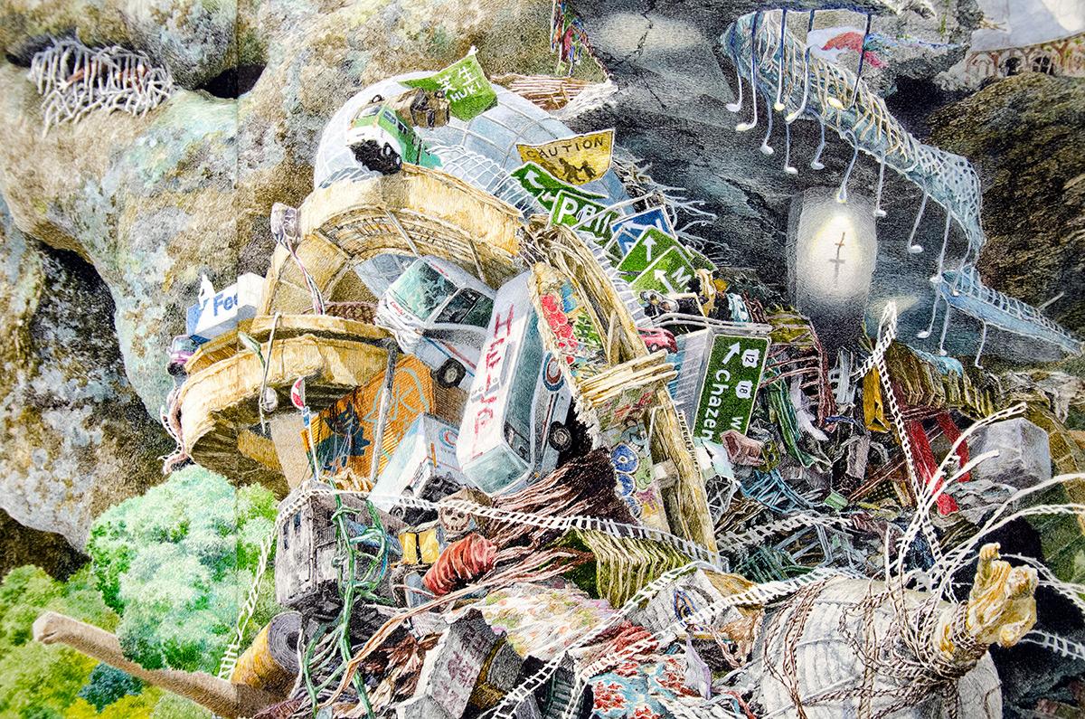 Rebirth, Манабу Икеда, Manabu Ikeda, воссоздание разрушительного цунами в Японии