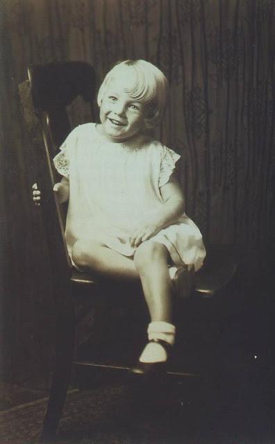 винтажные фотографии, Мэрилин Монро в детстве