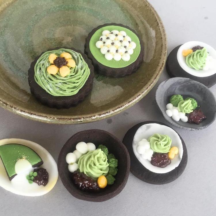 Печенья от Масако в виде японских блюд
