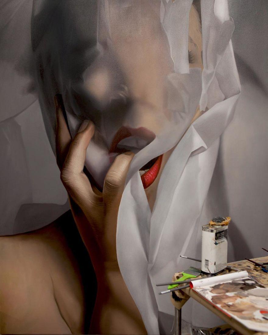 Мастер гиперреализма, гиперреализм, гиперреалистичные портреты, Майк Даргас, Mike Dargas
