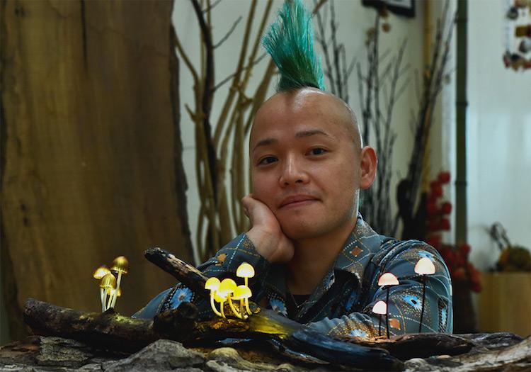 скульптуры из старых коряг, японский художник, Юкио Такано, Yukio Takano