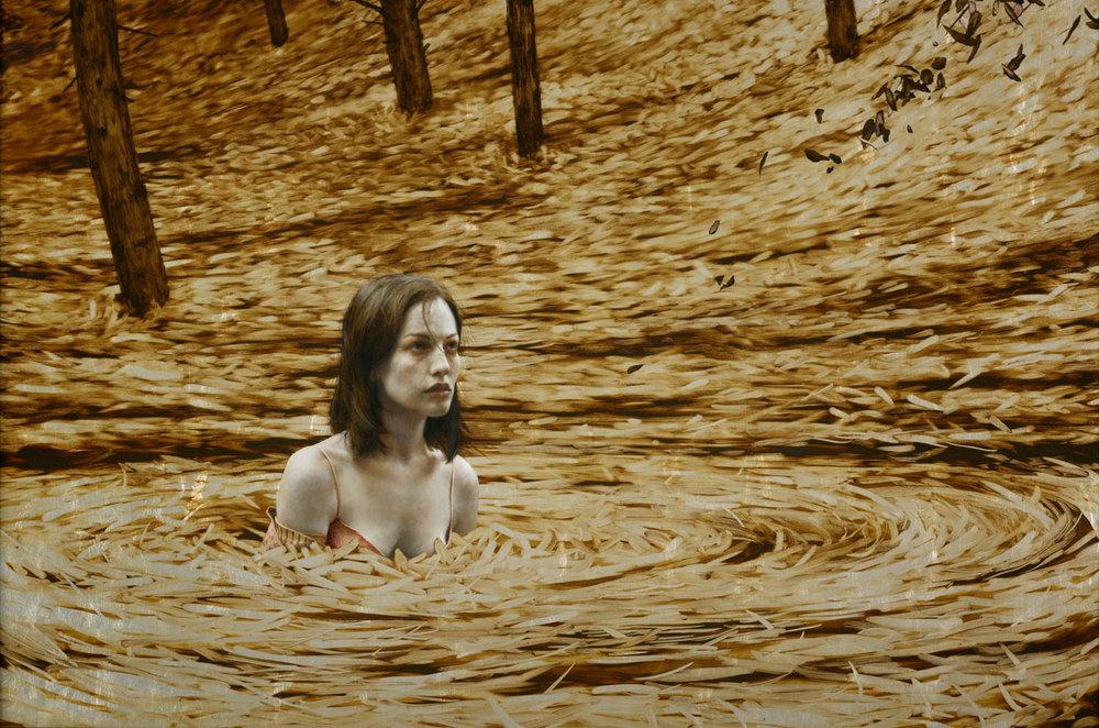 Картины с позолотой от Брэда Кункла
