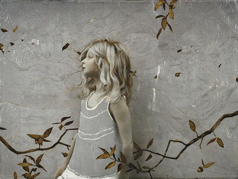 картины с позолотой, художник, Брэд Кункл, Brad Kunkle