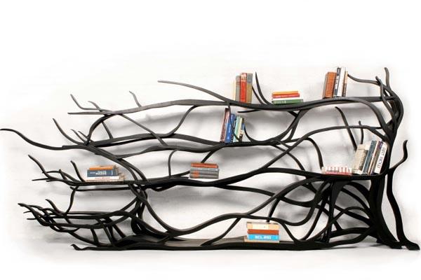 Функциональные скульптуры из дерева от Себастьяна Эрразуриса