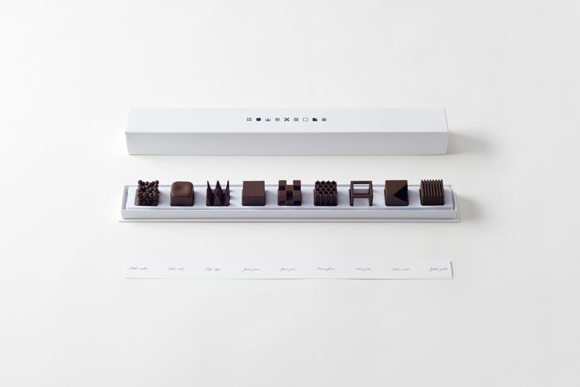 студия Nendo, шоколадные изделия