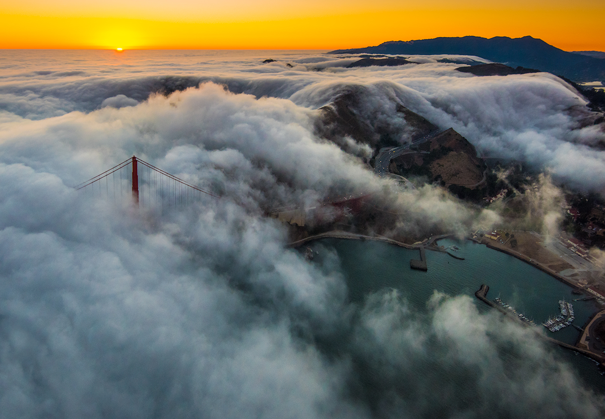 пейзажи Сан-Франциско, Николас Стейнберг, Nicholas Steinberg
