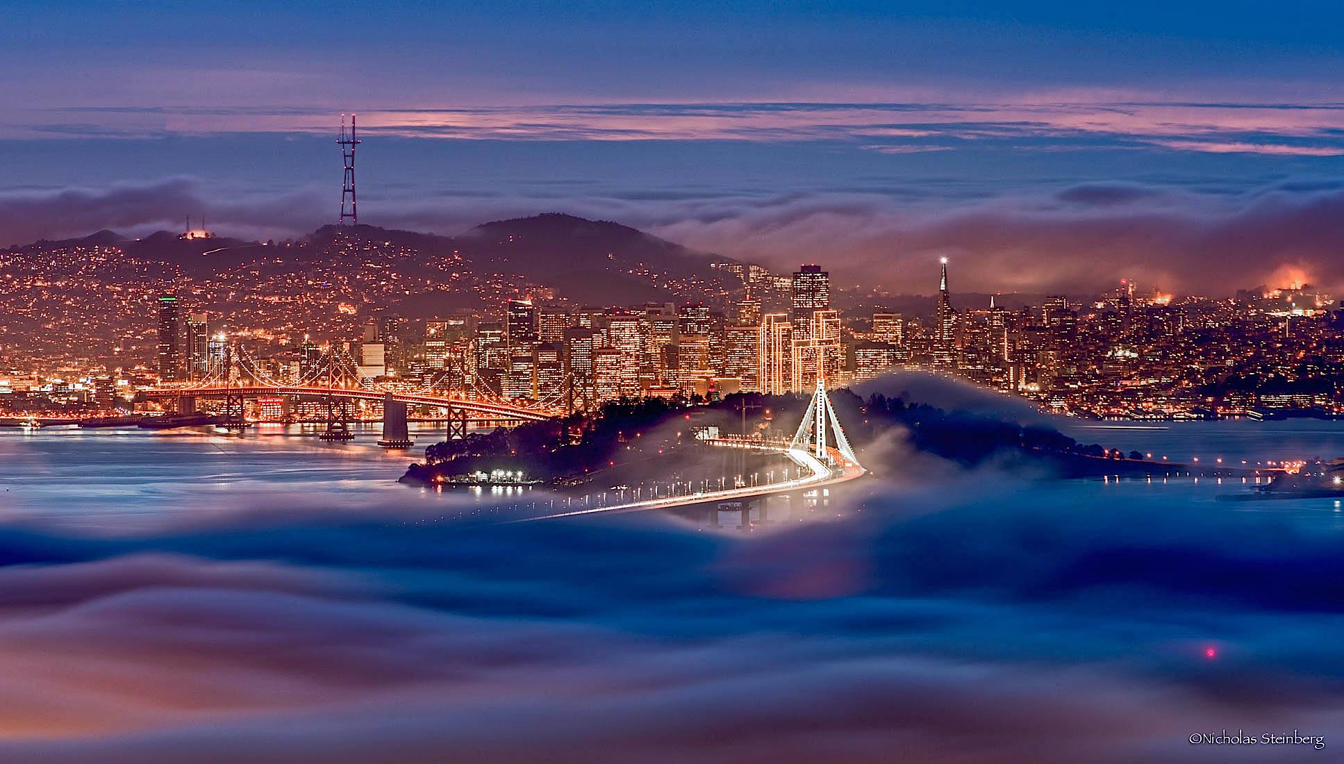 Пейзажи Сан-Франциско от Николаса Стейнберга