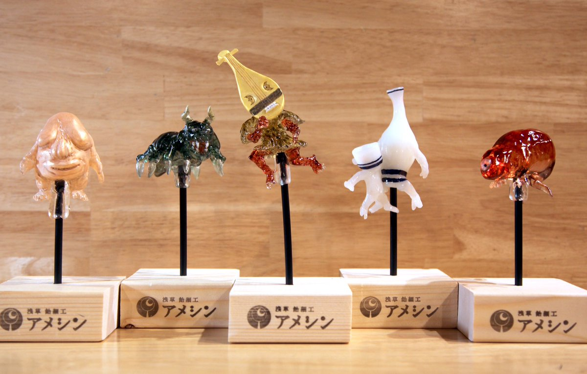 кондитерская Ameshin, реалистичные леденцы, кондитер из Токио, Шинри Тезука, Shinri Tezuka