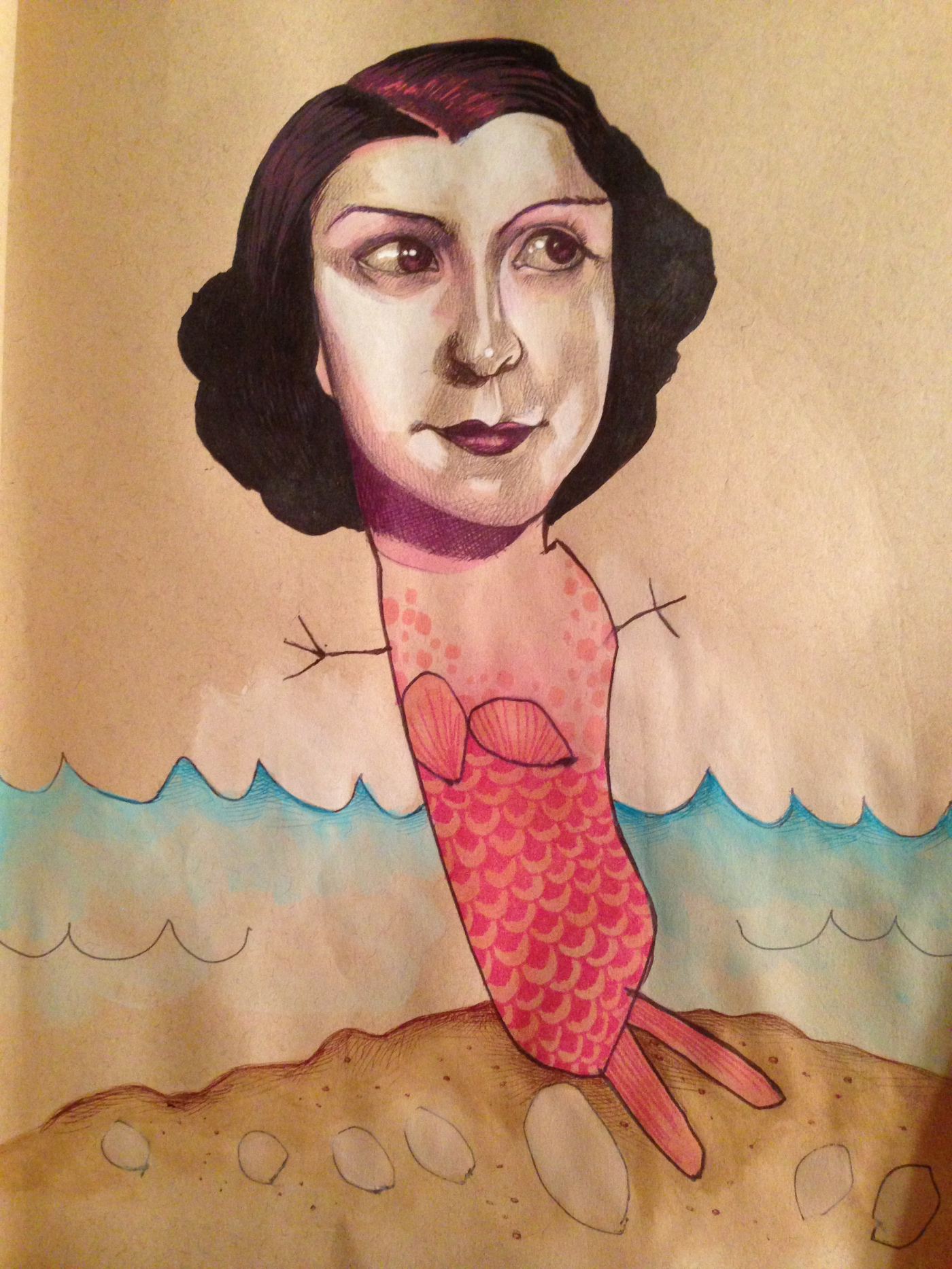 Иллюстрации от Мики Анджелы Хендрикс и её дочери
