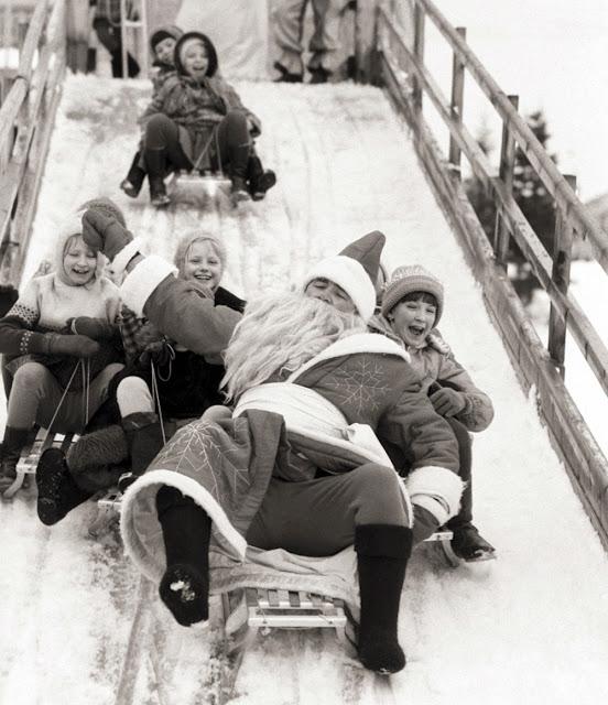 Дед Мороз: история и винтажные снимки