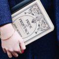 Элегантные «книжные» клатчи от Елены Милославской
