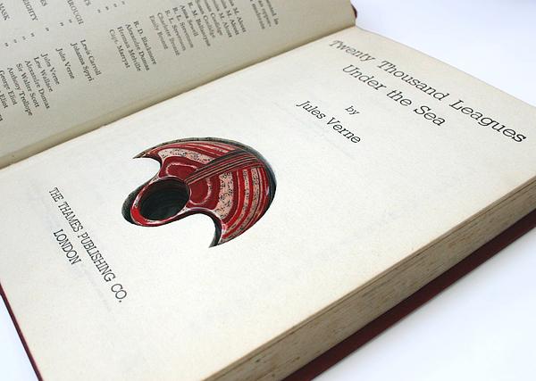украшения из винтажных книг, Littlefly, Джереми Мэй, Jeremy May