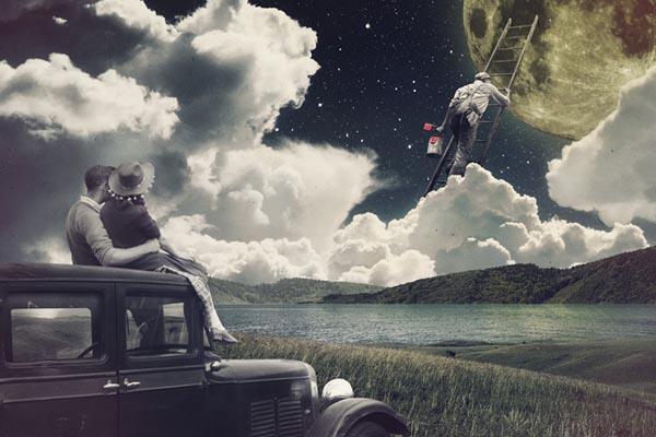 Сюрреалистичные цифровые коллажи от Жозебы Элорзы