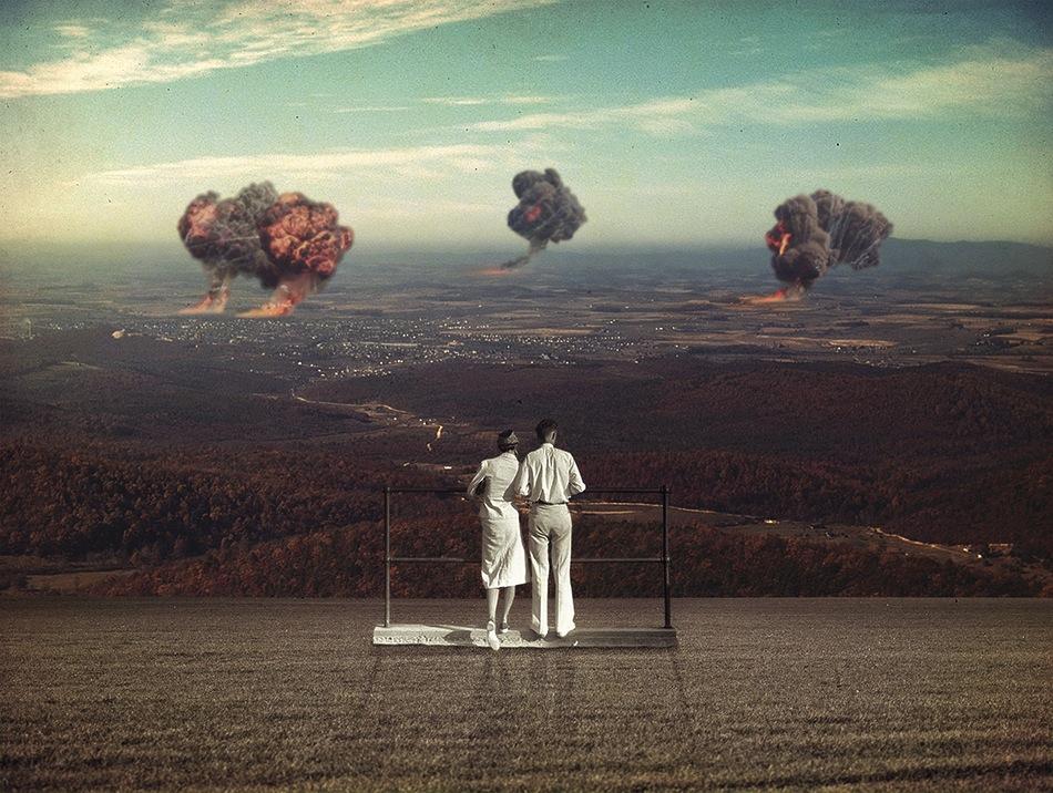 сюрреалистичные коллажи, Жозеба Элорза, Joseba Elorza