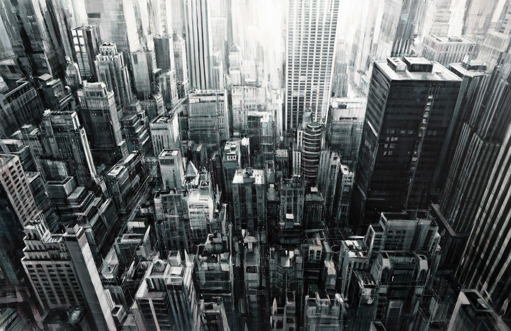 городские пейзажи, Валерио Д'Оспина, Valerio D'Ospina