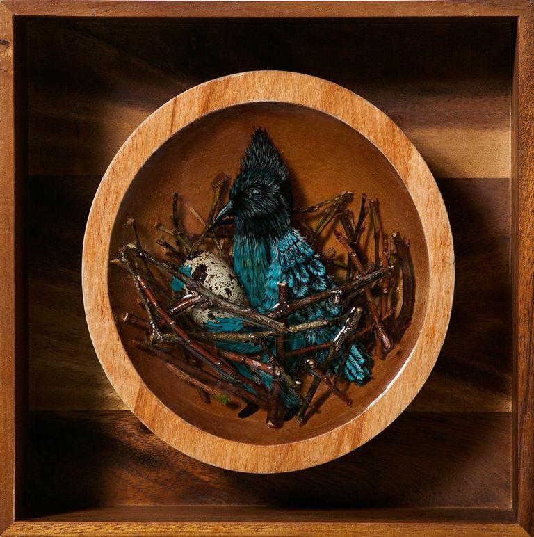 композиции из смолы и дерева, Дрю Мозли, Drew Mosley