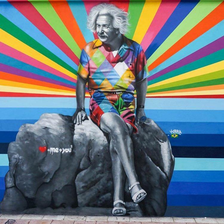 гиперреалистичный стрит-арт, Эдуардо Кобра, Eduardo Kobra