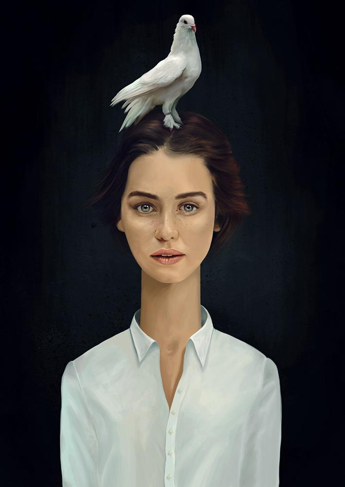 цифровая живопись, Кристиан Тейфел, Krisztián Tejfel