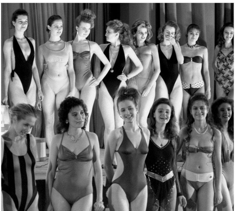 первый конкурс красоты в СССР, Московская красавица