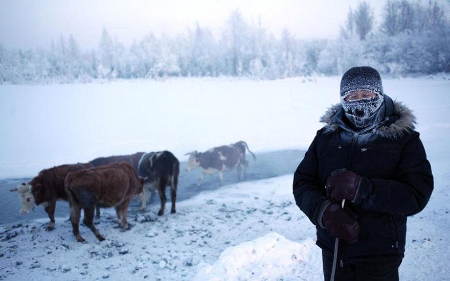 фотографии городов, Оймякон, Якутск, Амос Чаппл, Amos Chapple