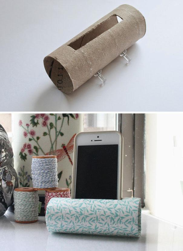 Рулон от туалетной бумаги