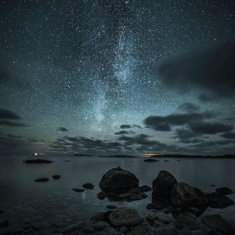 ночные пейзажи, фотографии, Оскар Кесерци, Oscar Keserci