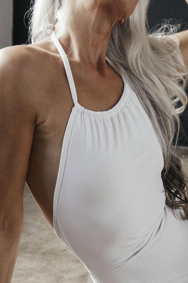 61-летняя модель, реклама нижнего белья, Ясмина Росси, Yazemeenah Rossi