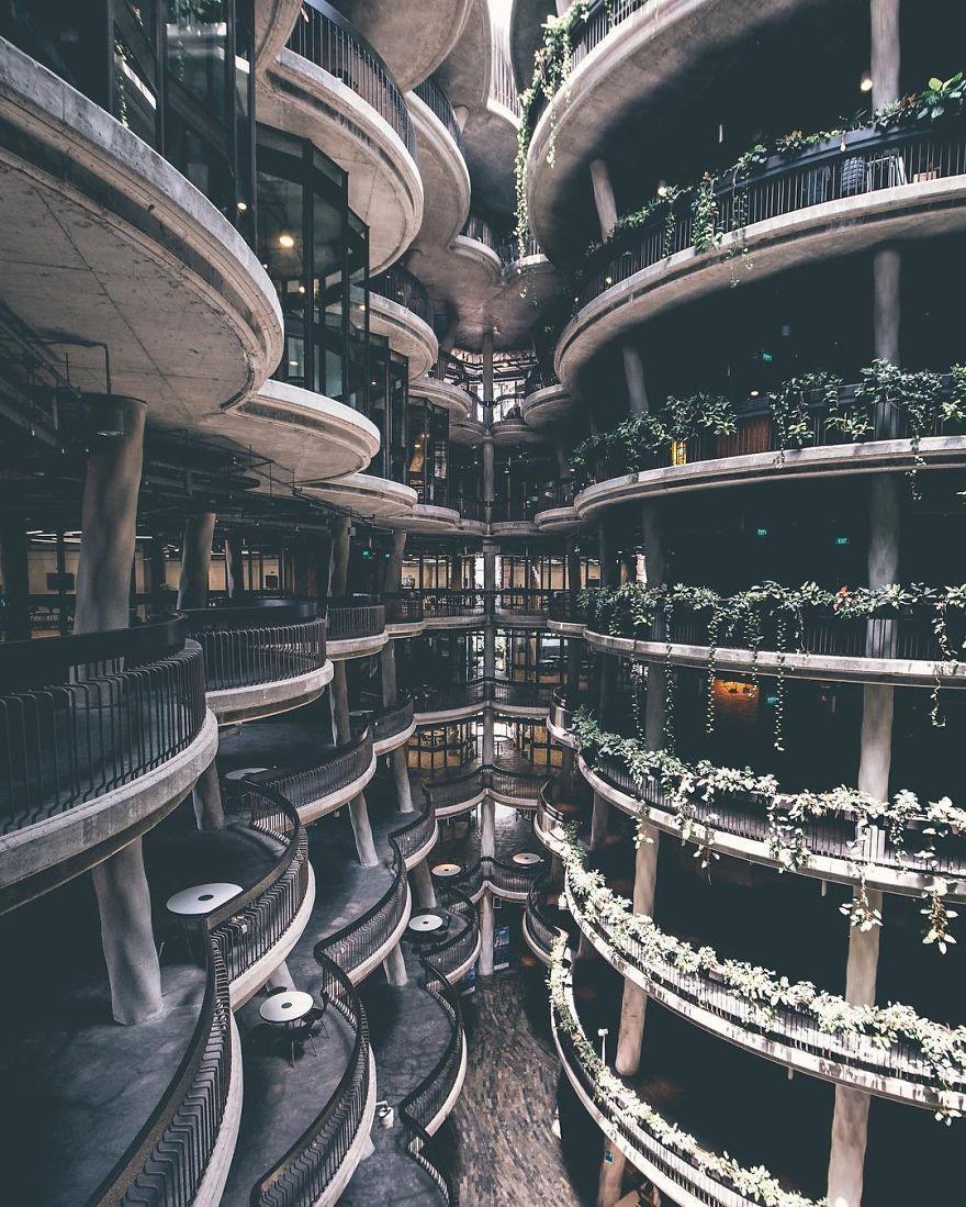 архитектура Сингапура, фотографии, Джик Кит, Yik Keat