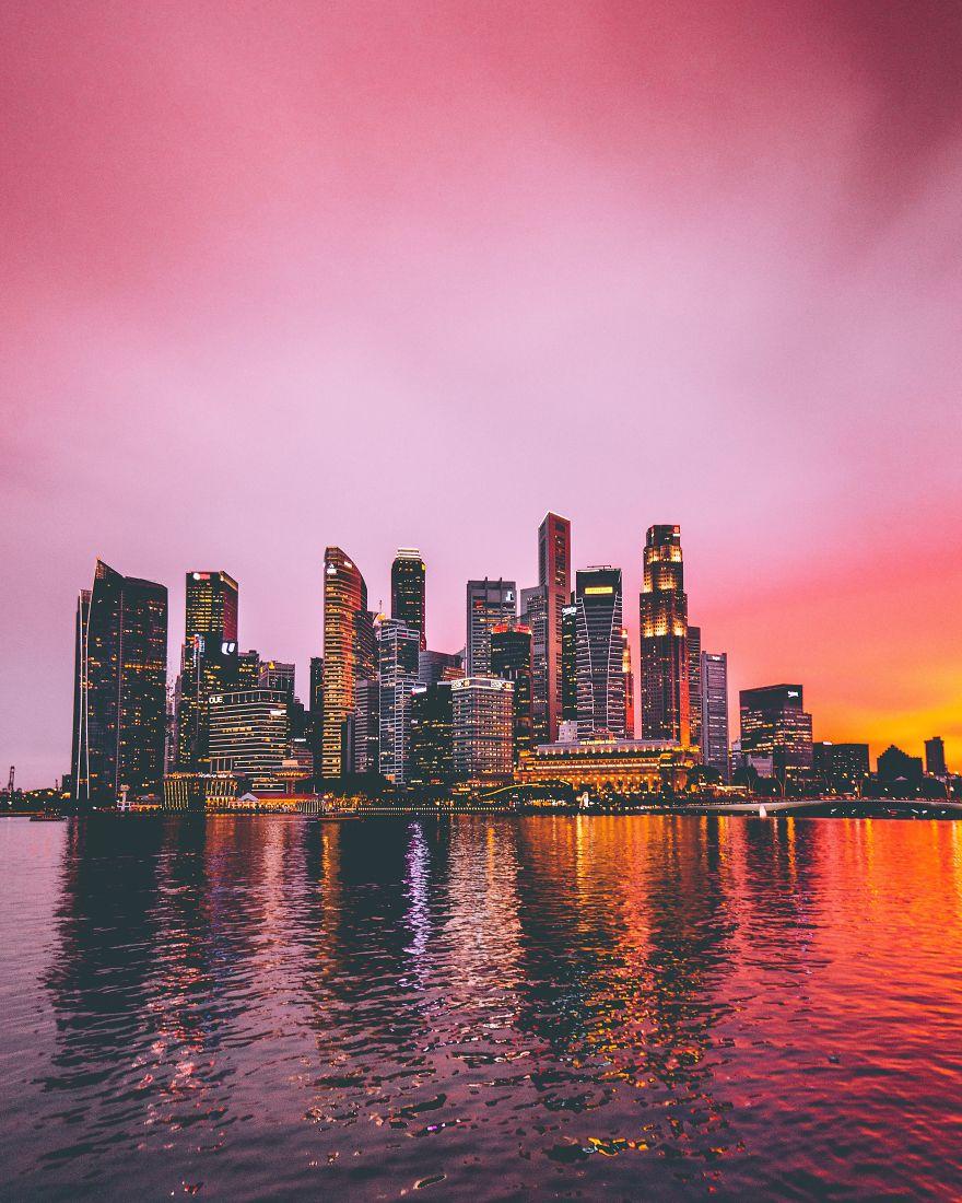 Архитектура Сингапура в фотографиях Джика Кита