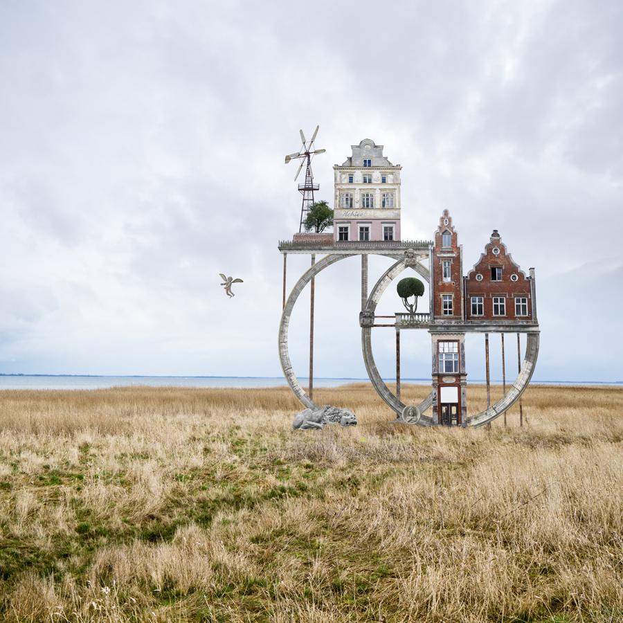 сюрреализм, цифровые коллажи, Маттиас Юнг, Matthias Jung