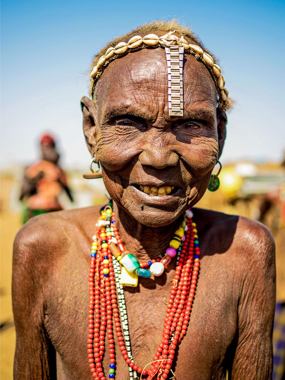 портреты племенных женщин Эфиопии, Омар Реда, Omar Reda