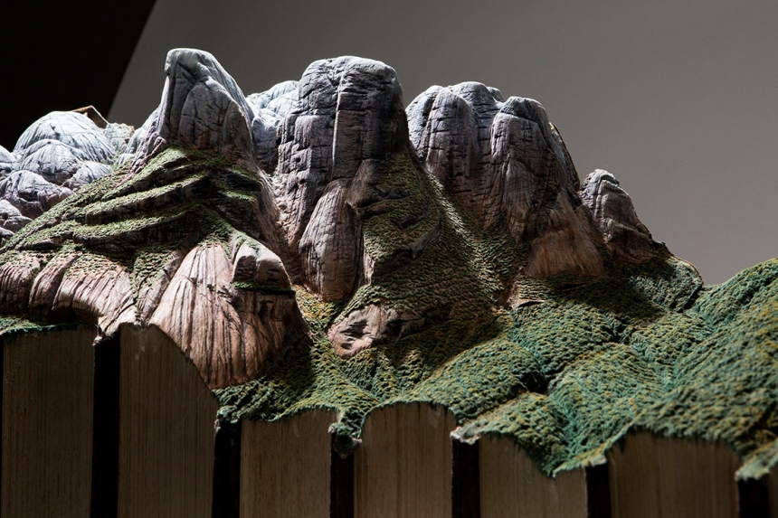 скульптуры из старых книг, Гай Ларами, Guy Laramée