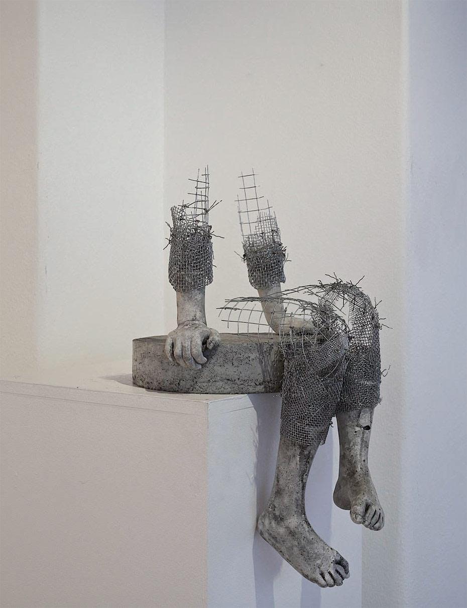 скульптуры из проволоки, Лене Килде, Lene Kilde