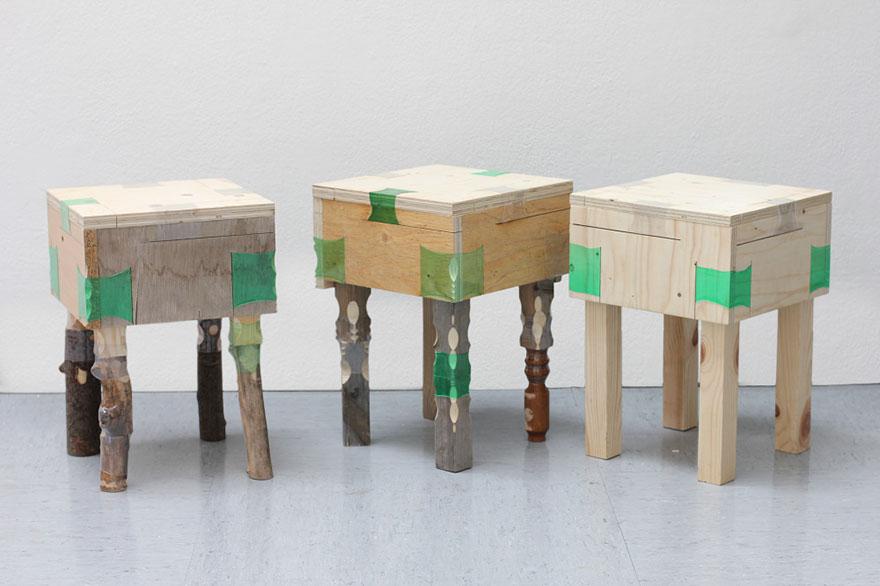 Пластик в качестве крепежа для мебели, Микаэлла Педрос, Micaella Pedros