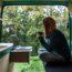 16-летний фургон, превращённый в очаровательный мобильный дом