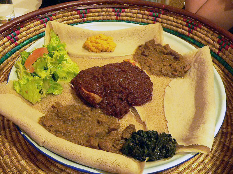 Что едят на завтрак жители Эфиопии