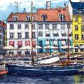 Живописные скетчи, вдохновленные «путешествиями» по интернету