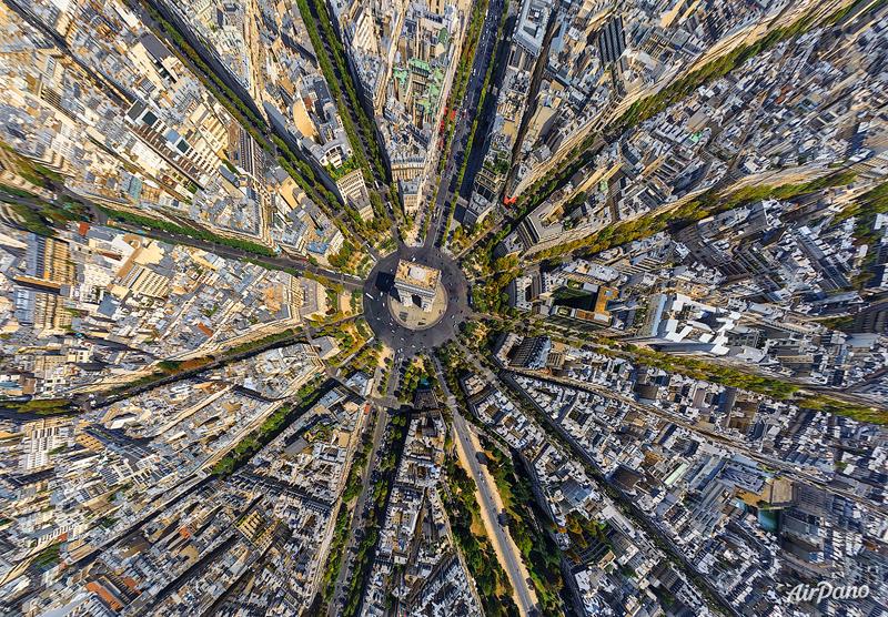 снимки с воздуха, AirPano