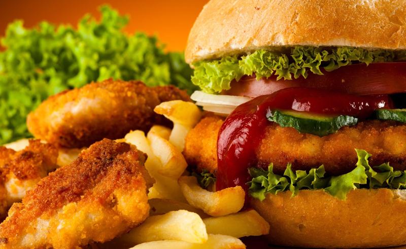 Аппетитный чизбургер